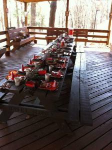 Fox children's table